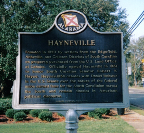 Hayneville (Lowndes County) Alabama