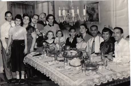 My family -- Thanksgiving 1953 at my grandparent's home in Chicago