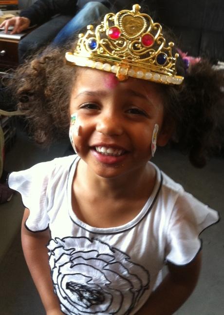 Princess Violet Celebrates Her Birthday